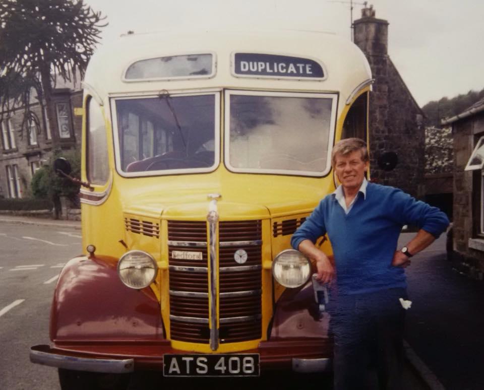 ATS 408 Bedford OB & Jim Byrne 1980s???